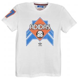 adidas Originals Star Wars Ewing T-Shirt - мужская футболка с короткими...