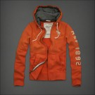 Abercrombie & Fitch Down Hoody Orange
