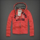 Abercrombie & Fitch Down Hoody Pink
