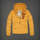 Abercrombie & Fitch Down Hoody Yellow