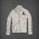 Abercrombie & Fitch Down Classic Hoody White