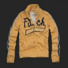 Abercrombie & Fitch Down Classic Hoody Yellow