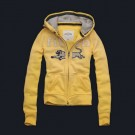 Abercrombie & Fitch Down Womens Hoody Yellow
