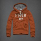 Abercrombie & Fitch Down Pullover Hoody Orange