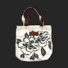 Abercrombie & Fitch Logo White Floral Bags